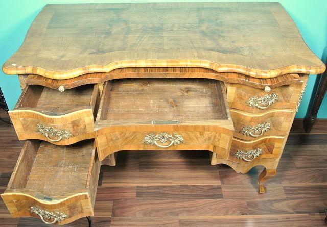 schreibtisch dresdner barock ii die kunst und antiquit tenb rse. Black Bedroom Furniture Sets. Home Design Ideas